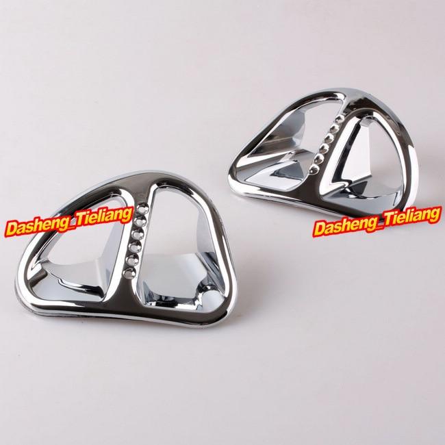 For Honda Goldwing GL1800 Fairing Martini Air Intake Grills 2001-2011 Decoration Bokykits Chrome<br>