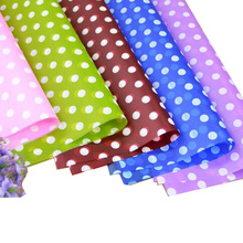 paper with dots 10 sheets/lot  flower dress gift wrapping printed cellophane  plastic water proof  flower wrapping paper