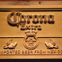 Corona Extra Beer 3D Wooden Sign(China)