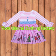 Newest Holiday Kids Clothes  Children's Girls Holiday Boutique Outfits Thanksgiving Dress