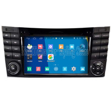 Brand New Quad CoreB 1024*600 Android Car PC for Benz W211 2002-2008 with BT DVD RDS Wifi 3G Mirror Link Car Multimedia