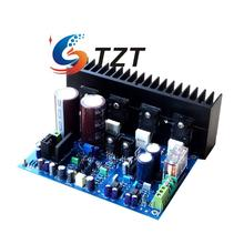A3 BASS 300W Power Amplifier Board Double Differential Input Audio AMP DIY Kit Unassembled(China)