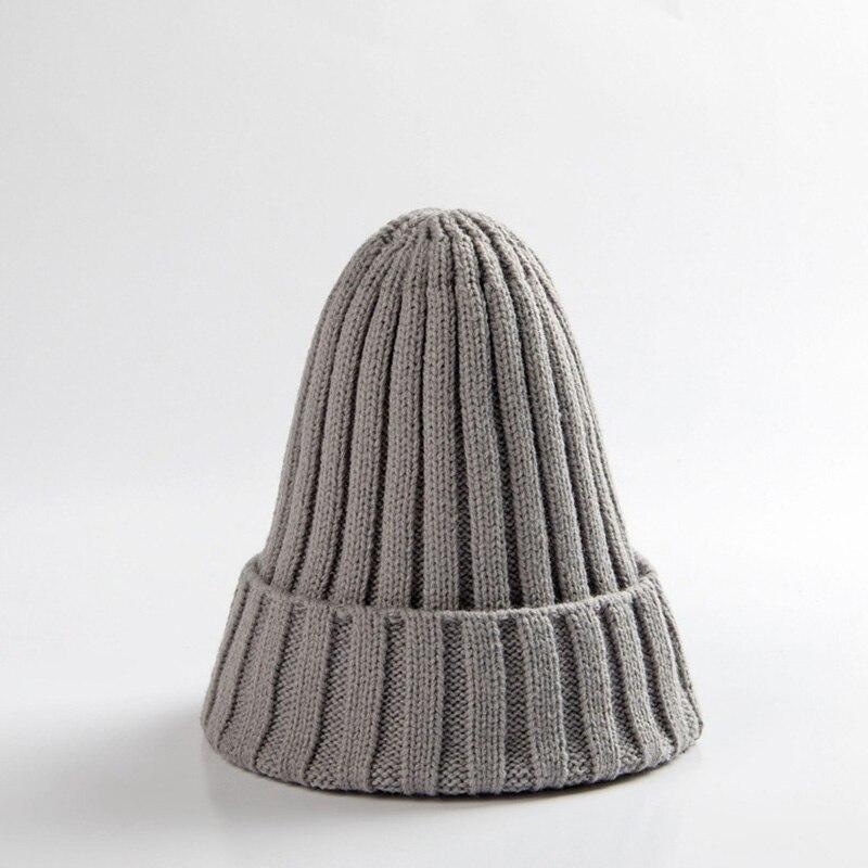 Knitted Kids Beanie Cap Infant Newborn Baby Boy Girl Hat Warm Childrenx Baby Autumn Winter Girls Hat For Kids Toddler Bonnet Cap 8