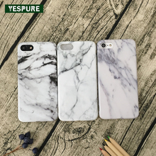 YESPURE 5.5 Inch Cheap Marble Cell Phone Covers for Iphone 6plus Hot Sell White Soft Silicone Handphone Accessories Full Covers