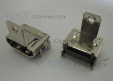 1pcs Female hdmi socket jack fit for gateway one zx4931 all-in-one motherboard hdmi port