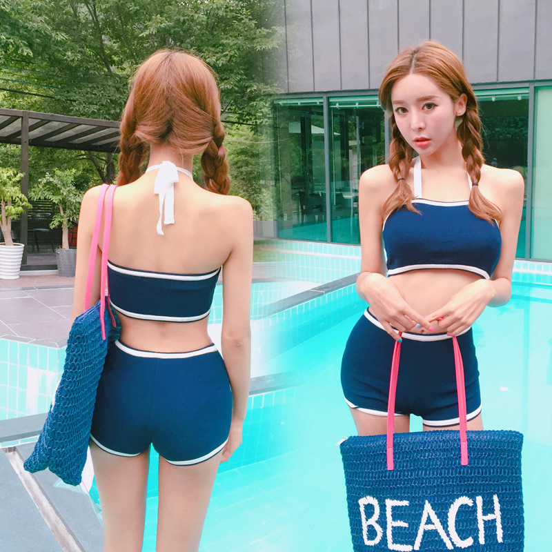 Bikini 2017 Set Swimming Suit For Women Swiming Top Xxl New Lady D17030 Bayan Mayo Plavky Maio Feminino Praia Maillot De Bain<br><br>Aliexpress