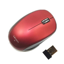 New Arrive Lexma M763R 2.4GHz Micro USB Wireless Blue Trace Mouse With Micro Receiver 10m Range Wireless Mice Mouse