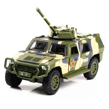 Hummer Simulation Military vehicles Amphibious Assault Chinese Off-road Chariot 1:32 Scale Mini Toy Model Kit Gift Oyuncak(China)