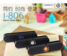HOT mobile phone wireless portable Bluetooth speaker Home Furnishing flat car speakers can be on behalf of genuine