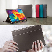 Ultra-thin Smart Folding PU Leather Cover For Samsung Galaxy Tab S 10.5 T800 T805 Tablet Case+Free Screen Protector+Stylus Pen