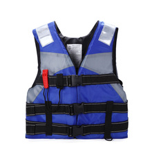 7-12 Year Child Life Vest Jackets Swimming Rafting Snorkeling Fishing Clothes Vest Whistles Life Vest For Children(China)