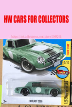 2017 New Hot 1:64 Car wheels  Green Fairlady 2000 car Models Metal Diecast Car Collection Kids Toys Vehicle  Juguetes