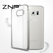 ZNP Transparent Case For Samsung Galaxy S7 S6 Edge S8 Plus Ultra Thin Clear Soft TPU Silicone Cover Cases For Galaxy S8 S7 Case