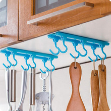 New Kitchen Cupboard Cooking Tools Hanger Rack Ceiling Hanging Rack Hooks Kitchen Accessories(China)