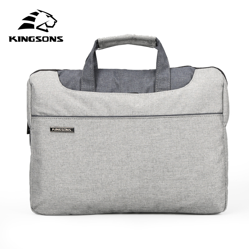 Kingsons High Quality Laptop Handbag for Men and Women Travel Bussiness Notebook Bag Large Capacity 11 13 14 15 Inch Computer(China (Mainland))