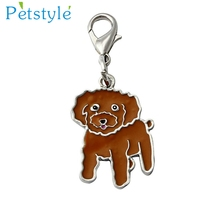 1PC MIni Dog Tag Disc Disk Pet ID Enamel Accessories Dog Collar Necklace Pendant Various type key ring  Levert Dropship mar9