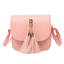 VSEN Fashion Small Chains Bag Women Candy Color Tassel Messenger Bags Female Handbag Shoulder Bag Women Bag Bolsa Feminina