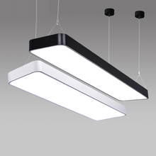 LX220 study office modern LED ceiling pendant lamp rectangle Suspended Pendant light fixtures home White light