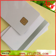 Free Shipping Big Chip sle5528 sle4428 Card with 2 track Magnetic Stripe for Hotel door lock system 100PCS/Lot