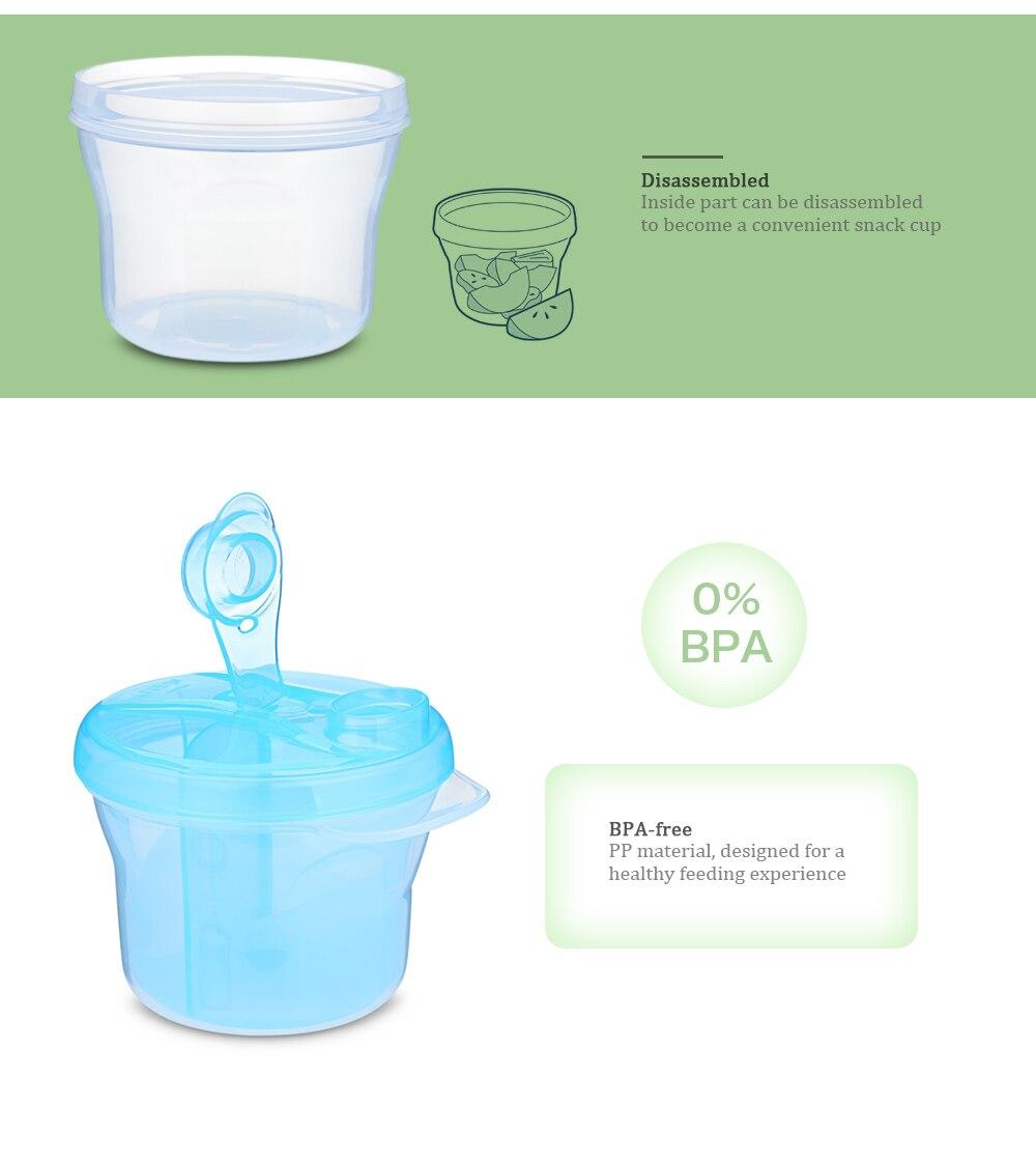 Mutter & Kinder Baby Milch Pulver Container Tragbare Milch Pulver Abdichtung Lagerung Box Kinder Formel Lebensmittel Lagerung Spender Microweave Gefrierschrank Sicher Fütterung