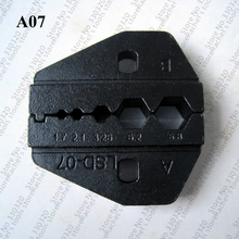 A07 crimping die set for coaxial cable and coax connector