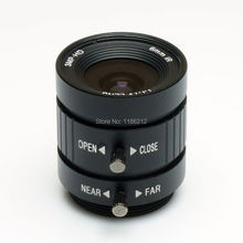"Mega Pixel,6mm Manual Iris Lens Industrial Lens with 1/2"" format & CS Mount(China)"