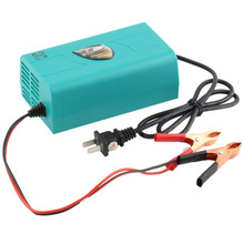 1pcs 12V auto car Battery Charger Motorcycle Charger Intelligent Charging Machine Boat Marine Maintainer Trickle hot selling(China)