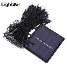 Lightme 21M 200 LEDs Solar LED Fairy Light Holiday Lights Party Outdoor Garden Waterproof Tree Decoration LED String Lamp 2017