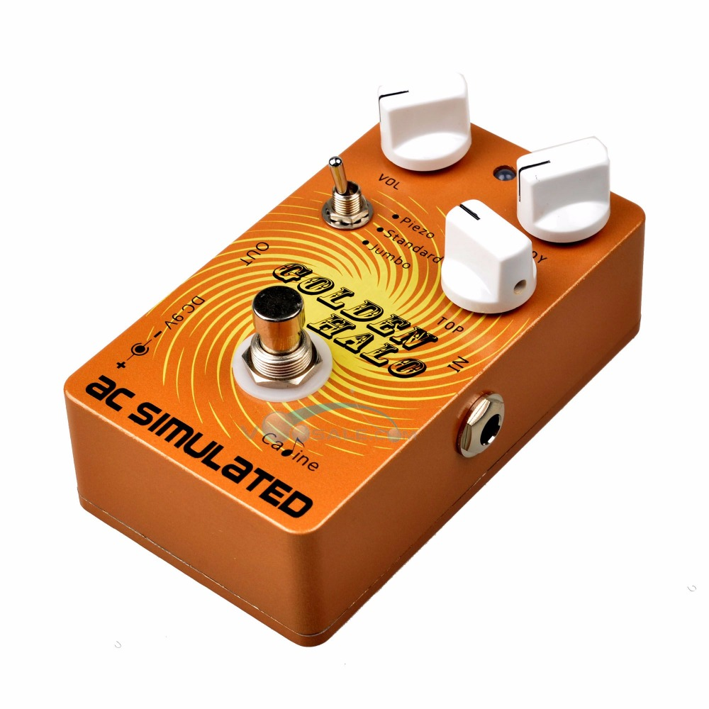Caline CP-35 AC SIMULATED Guitar Effects Pedals with True Bypass Acoustic Effects Guitars<br>