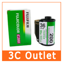 5 Roll/lot Fujifilm C200 Color 35mm Film 36 Exposure for 135 Format Camera(China)