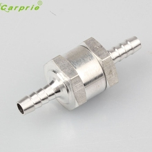 AUTO 2016 New Hot Aluminium Alloy 6/8/10/12MM Fuel Non Return Check Valve One Way Petrol Diesel Freeshipping&Wholesale Au 11