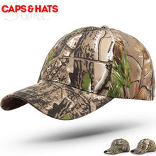 2017 Promotion Gift New Store Open Camo Baseball Cap Outdoor Fishing Hunting Hat Camouflage Fast Dry Snapbacks bone camuflado(China)