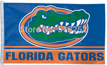 NCAA Florida State University Gator Flag 3x5 FT 150X90CM Banner 100D Polyester flag 106, free shipping(China)