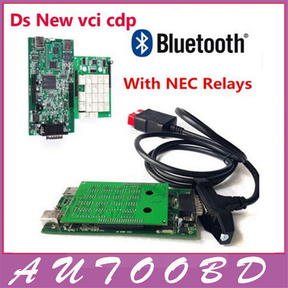 Best price+Best quality! 2015.R1software dvd /2014.2 keygen new vci Nec Relay ds tcs cdp plus led for CARs TRUCKs Obd2 Scan Tool<br><br>Aliexpress