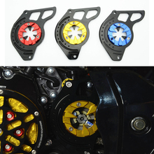 Motorcycle Scooter Front Sprocket Cover Panel Left Engine Guard Chain Cover Protection For Honda 2014-2015 Grom MSX125(China)