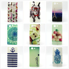 Buy Slim TPU Back Case Sony Xperia Z3 Compact Z3 mini D5803 D5833 Fashion Gel Silicone Soft Transparent Frame Phone Case Cover for $1.59 in AliExpress store
