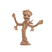 Q Version Mini Galactic Guard GROOT DIY Minifigure Toy Children Gifts Free shipping