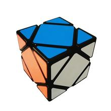 Magic Speed Cube The Best Brain Training Game 3X3 Easy Turning and Smooth Skewb Neo Cube
