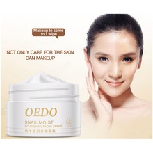 Imported Raw Materials Skin Care Anti Aging Wrinkle Firming Snail Care Snail Moist Nourishing Facial Cream Supplies(China)