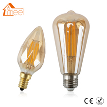 Buy Vintage Retro LED Light Bulb E14 E26 4W 110V 220V Golden Dimmable Diamond Shape Edison Retro Filament Lamp Bulb Cold/Warm White for $2.59 in AliExpress store