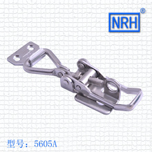 NRH 5605A cold-rolled steel Toggle latch clamp zinc plating high quality padlockable thread adjustable Latch Clamp wholesale(China)