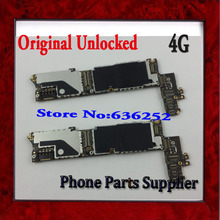 1Pcs 100% Original 4g Main Board 16GB Unlocked For iphone 4 4g Motherboard with Chips Free Shipping