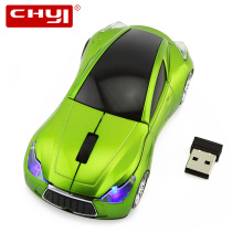 Wireless Optical Mouse Computer Mice 1600 DPI Infiniti Sports Car Shaped Mouse sem fio Gaming Mause Mice For Laptop PC Gamer(China)