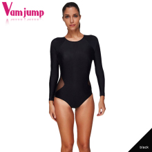 Buy VamJump Long Sleeve Backless Swimwear Women 2018 One Piece Plus Size Swimsuit Body Suits APSW5580 Woman Professional Swimwear for $14.99 in AliExpress store
