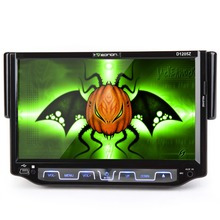 "7"" Touch Screen 1 Din Car DVD One Din Car Radio Single Din Car Audio with Drop Down Dechahable Panel & Analog TV Function"