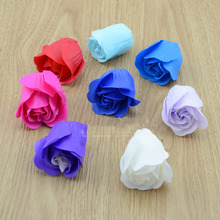Soap flower soap flower head gift simulation roses gift roses bouquet of flowers packaging materials DIY