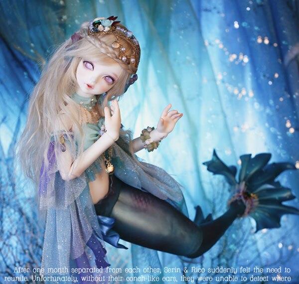 Fairyland doll bjd sd msd 1/4 resin BJD doll the Little Mermaid Doll<br><br>Aliexpress