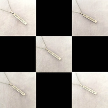 Youpop KPOP BTS Bangtan Boys Album Necklace JUNGKOOK K-POP Jewelry Pendant Chain Accessories For Men Women Female Male Boy Girl