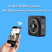 Wifi IP Spied Camera Wireless 720P HD Infrared Micro Camera IR Night Vision Body Camera Magnetic Motion Detection Mini DV Kamera