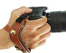 Buy New DSLR Camera Hand Wrist Strap Leather Handmade Canon Nikon Sony Pentax Fujifilm Camera for $8.44 in AliExpress store